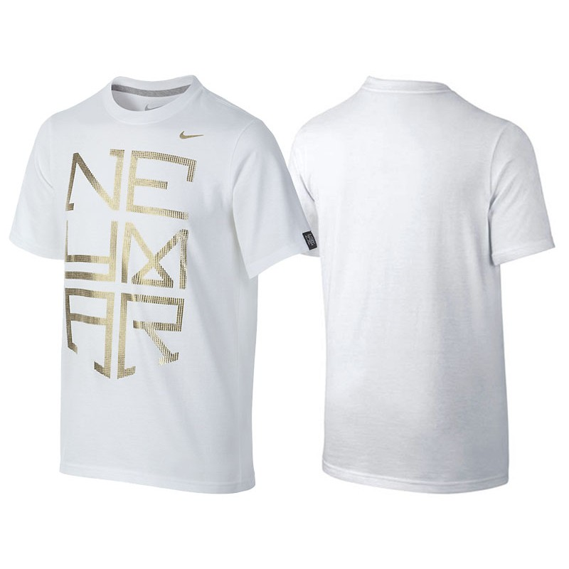 Men s Neymar Jr Barcelona White T-Shirt 3a0f6c20e