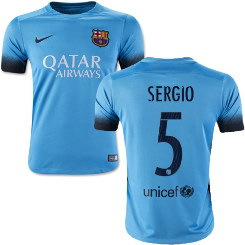 competitive price 3b3e0 12aef canada barcelona 5 sergio third soccer club jersey 6a8ff 72278