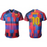 2018/19 Barcelona #10 MESSI 20th Anniversary Stadium Soccer Jersey