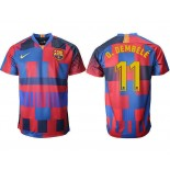 2018/19 Barcelona #11 O.DEMBELE 20th Anniversary Stadium Soccer Jersey