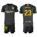 2018/19 Barcelona #23 UMTITI Black Training Jersey