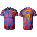 2018/19 Barcelona #9 SUAREZ 20th Anniversary Stadium Soccer Jersey