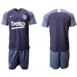 2018/19 Barcelona Dark Blue Training Soccer Jersey