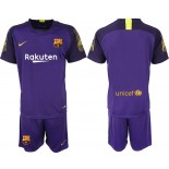 2018/19 Barcelona Goalkeeper Short Shirt Purple