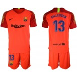 2019/20 Barcelona Goalkeeper #13 CILLESSEN Red Jersey