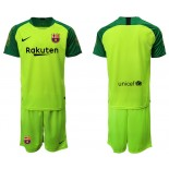 2019/20 Barcelona Goalkeeper Fluorescent Green Goalkeeper Jersey
