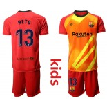 2019/20 Barcelona Goalkeeper #13 CILLESSEN Redkids Jersey