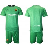 Barcelona Goalkeeper Green 2020-21 Jersey