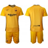 Barcelona Goalkeeper Yellow 2020-21 Jersey