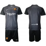 Barcelona Goalkeeper Black 2020-21 Jersey