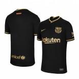 Womens 2020/21 Womens Barcelona Away Black Authentic Jersey