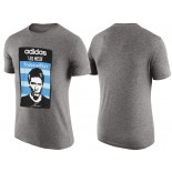 Men's Lionel Messi Barcelona Grey T-Shirt