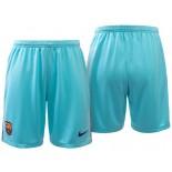 Men Barcelona 2017-18 Sky Blue Away Shorts