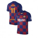 2019/20 Barcelona #11 Alexia Putellas Blue Red Home Authentic Jersey