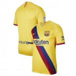 2019/20 Barcelona Stadium Away Yellow Authentic Jersey