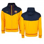 Barcelona Authentic Windrunner Jacket - Loyal Gold Dark Obsidian