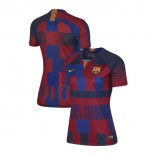 Women's Barcelona Commemorative 20th Anniversary Royal Red Authentic Jersey