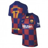 Youth 2019/20 Barcelona Home #17 Antoine Griezmann Blue Red Replica Jersey