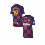Youth 2019/20 Barcelona Home #19 Barbara Latorre Blue Red Authentic Jersey