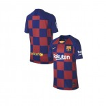 Youth 2019/20 Barcelona Home Blue Red Replica Jersey
