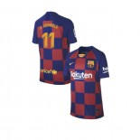 Youth 2019/20 Barcelona Home #11 Ousmane Dembele Blue Red Replica Jersey
